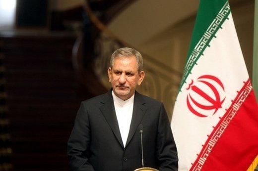 واکنش اینستاگرامی جهانگیری به حمله موشکی ایران به پایگاههای آمریکا با هشتگ #سیلی_اول