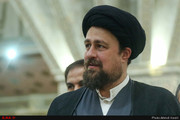 تصاویری از بازدید سیدحسن خمینی از موزه کمیته ملی المپیک