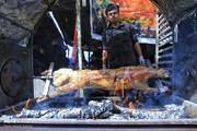 تصاویر | سنگ تمام عراقیها برای زائران اربعین
