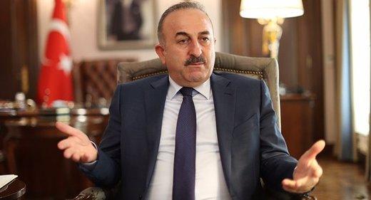 چاووشاوغلو: همبستگی ترکیه با ایران برای مقابله با تحریمها ادامه دارد