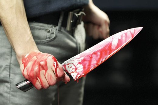 چاقو کشی راننده بنز برای افسر وظیفه راهنمایی و رانندگی