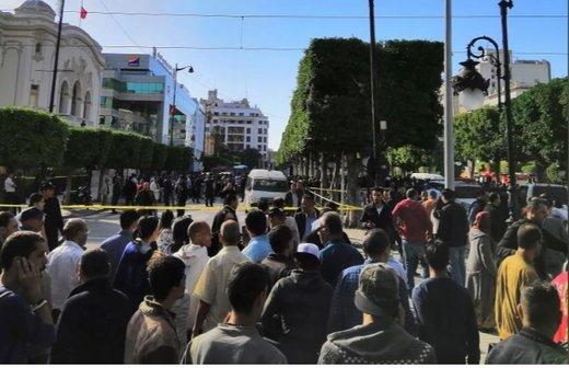 تصاویر | حمله انتحاری یک زن در تونس چند زخمی برجای گذاشت