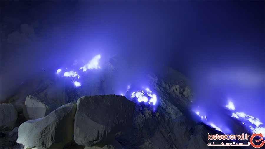 شعلههای آبیرنگ