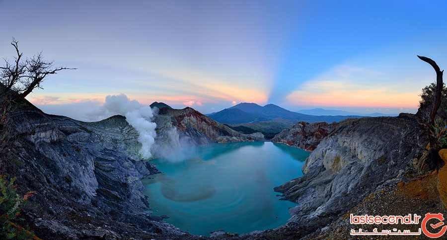 آتشفشان کاوا آیجن اندونزی