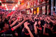 تصاویر | عزاداری شب اربعین حسینی در بین الحرمین