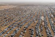 تصاویر |  آخرین تلاشهای زائران اربعین برای خروج از مرز چذابه