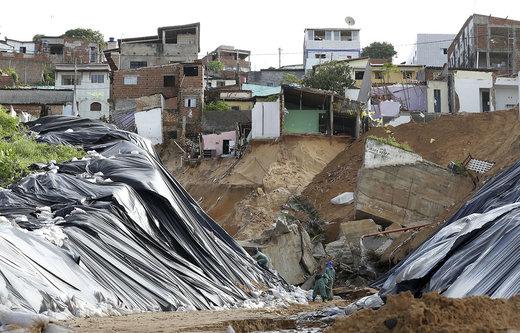فرونشست زمین در برزیل