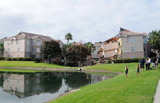 فرو نشست زمین در ایالت فلوریدا