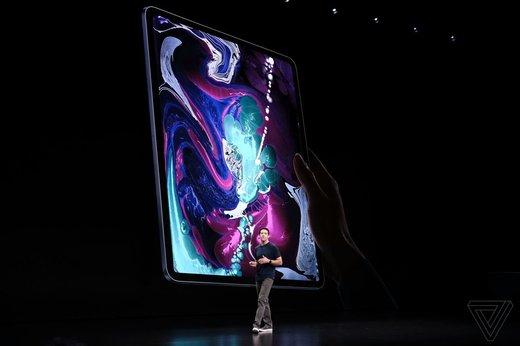 آی پد پروی جدید ۲۰۱۸ اپل مجهز به فناوری چهرهشناس و یواسبی تایپ سی / عکس