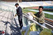 ورزشگاه آزادی فینال لیگ قهرمانان را تمرین کرد!