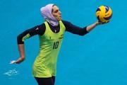 مائده برهانی لژیونر والیبال ایران در ترکیه:حجابم را به پول ترجیح دادم
