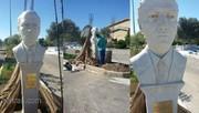 مجسمه پروین اعتصامی و فردوسی هم اصلاحیه خورد!
