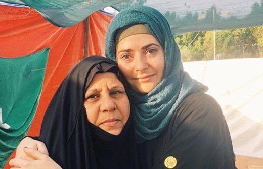 فیلم | به گریه افتادن خبرنگار زن انگلیسی با دیدن عزاداران در کربلا