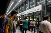 فیلم | سرگردانی مسافران در فرودگاه نجف به خاطر تأخیر پروازها