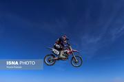 تصاویر | رقابت مردان موتورسوار برای راهیابی به تیم ملی