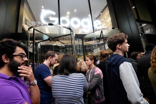 اعترضات کارکنان گوگل به آزارهای جنسی