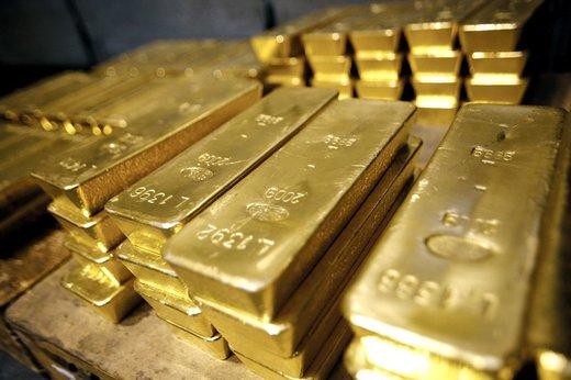 افت نرخ طلا در بازارهای جهانی به خاطر تقویت دلار