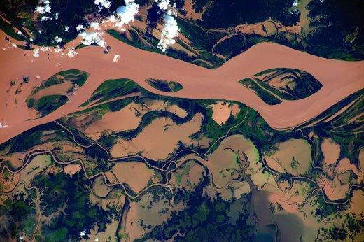 تصاویر خیرهکننده از زمین، گرفتهشده توسط فضانورد اروپایی