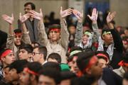 عکس | دانش آموزان در دیدار با رهبر انقلاب
