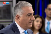 فیلم | رضا پهلوی: با بسیجیها و سپاهیها ارتباط دارم!