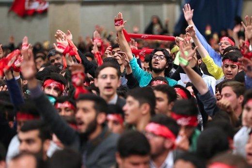 دیدار دانشآموزان و دانشجویان با رهبر معظم انقلاب اسلامی