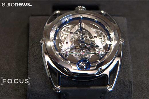 فیلم | رقابت لوکسترین ساعتهای دنیا در سوئیس