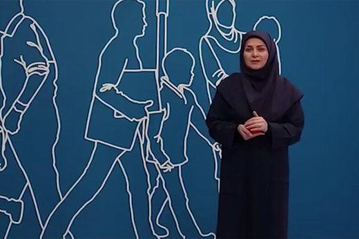 فیلم | حمله زامبیهای اینستاگرام به مجری زن برای پرسپولیس