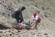نجات ۴ کوهنورد سرگردان در ارتفاعات «فرخشاد» کرمانشاه