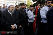 عکس | رئیس قوه قضاییه در راهپیمایی ۱۳ آبان