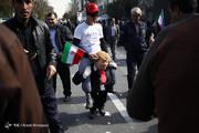 عکس | ترامپسواری در راهپیمایی ۱۳ آبان!