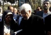 عکس | چهرههای اصولگرا و اصلاحطلب در راهپیمایی ۱۳ آبان