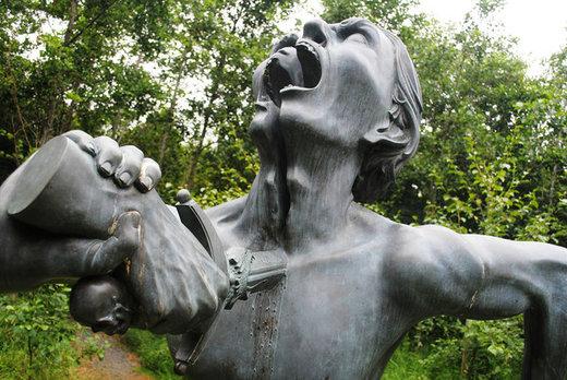 برخی از ترسناکترین مجسمههای جهان/ عکس