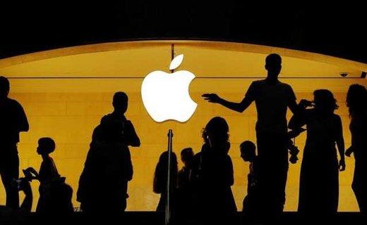 سقوط ۶.۶ درصدی سهام اپل/ اپل دیگر ۱ تریلیون دلاری نیست