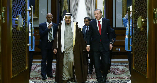 عجم: اردوغان، ماهرانه به عربستان خنجر زد