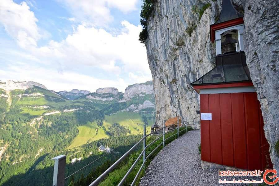 هتلی بینظیر در دل کوههای سوئیس