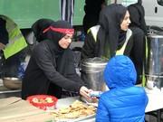 تصاویر | مراسم اربعین به سبک مسلمانان لندن