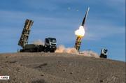 عکسی زیبا از لحظه شلیک موشک صیاد در رزمایش امروز