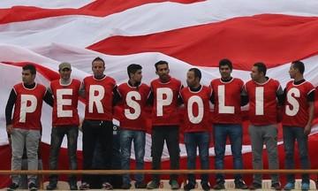 رونمایی از طرح موزاییکی هواداران پرسپولیس مقابل سپاهان/عکس