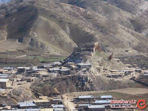 شهری با تنها یک سازه تاریخی ولی مرموز در غرب ایران + تصاویر