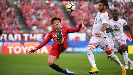 تصاویری از تمرین بازیکنان کاشیما در ورزشگاه اختصاصی پرسپولیس