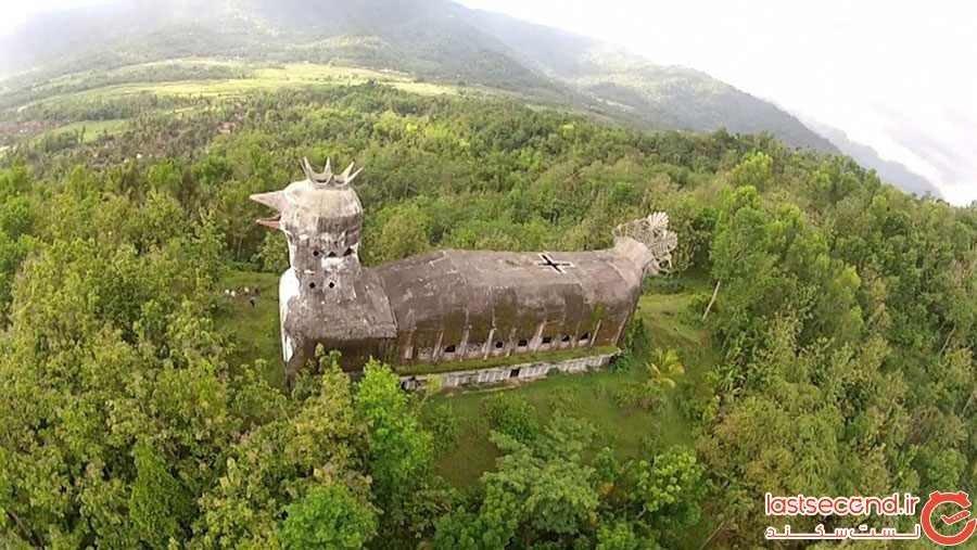 کلیسای مرغی در اندونزی
