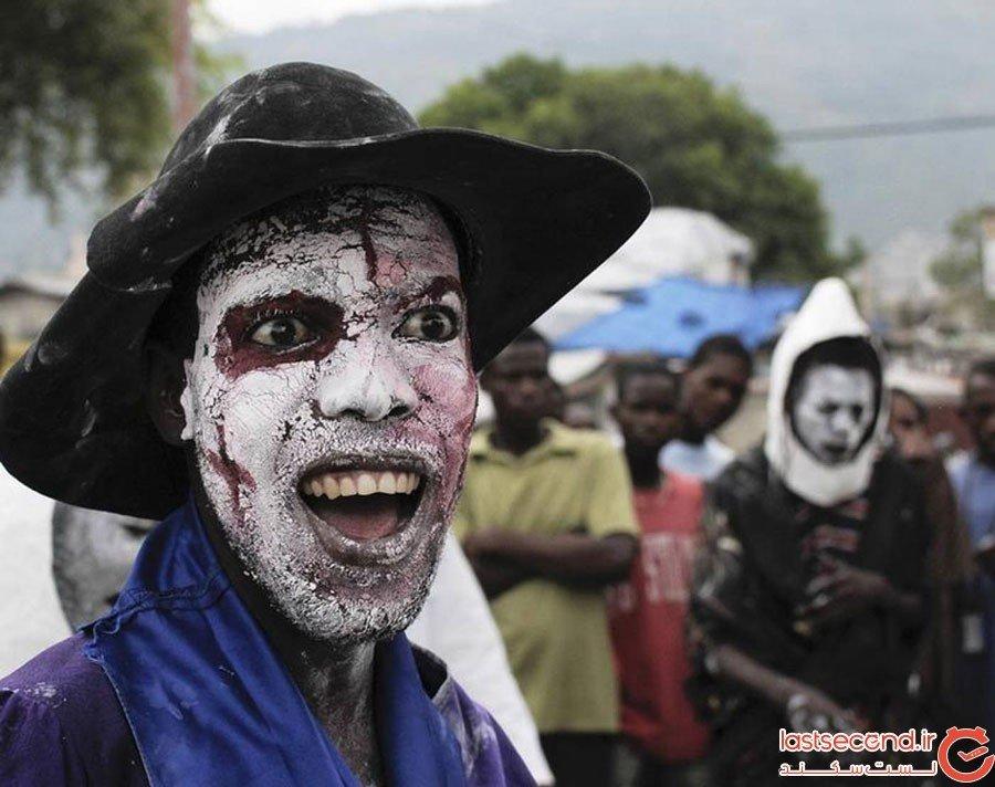 مراسم وودو در هائیتی