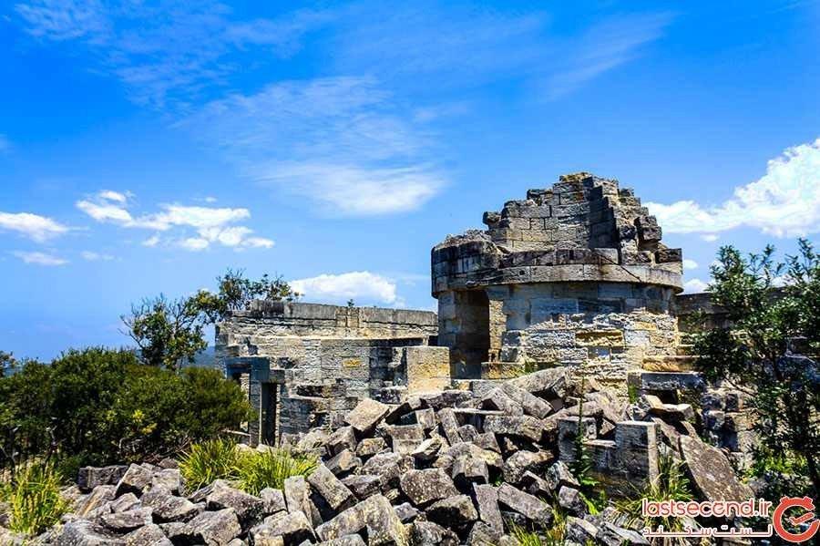 فانوس دریایی عجیب سنت جورج در جنوب استرالیا
