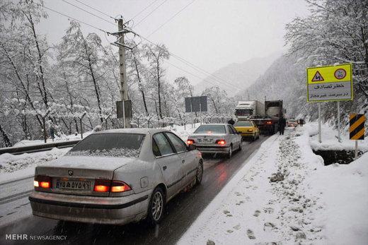 این جادهها امروز و فردا برفی میشوند