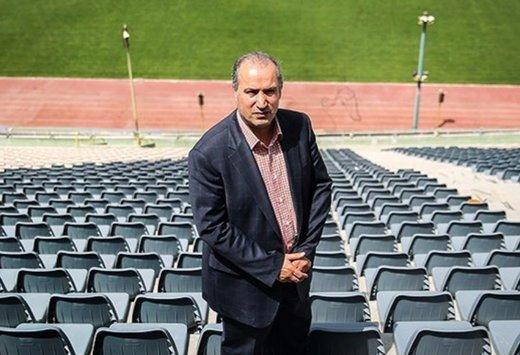 تاج خیال فوتبالیها را راحت کرد / تغییرات ورزشگاه آزادی همیشگی است!