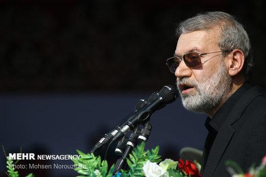 لاریجانی: تحریم ها علیه ملت ایران نامردی است
