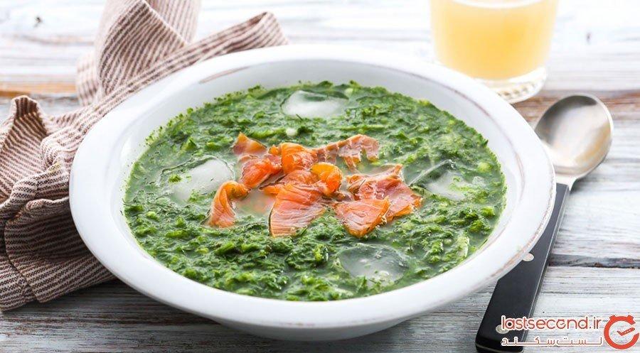 بوتوینیا یا سوپ سرد سبزیجات