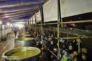تصاویر | پخت ۸۴ هزارکیلو آش نذری در شیراز
