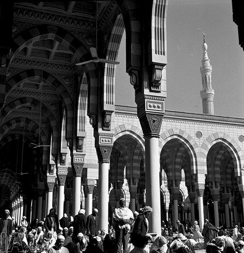 مسجد النبی(ص) در سال 1349