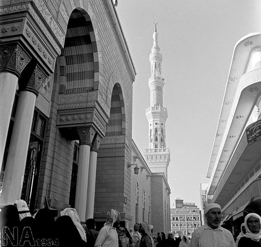 مسجد النبی(ص) در سال 1346